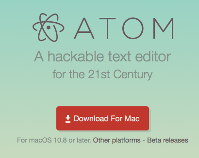 Download Atom