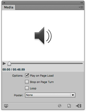 Audio will always stop when we turn the page in the fixed-layout ePub